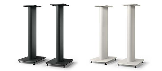 KEF S2 Floor Stand White and Black