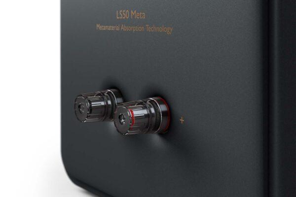 KEF LS50 Meta Carbon Black Speaker Terminal