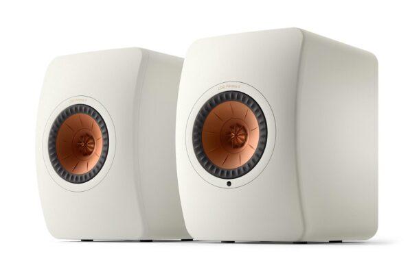 KEF LS50 II White Wireless Speakers