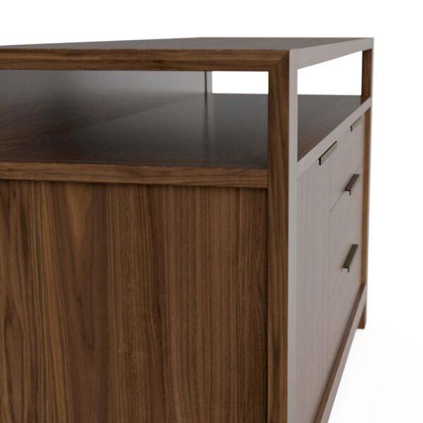 Modern Home Office Sideboard in Solid Walnut
