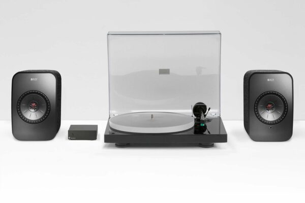 KEF LSX Pro-Ject X1 Wifi Turntable Package