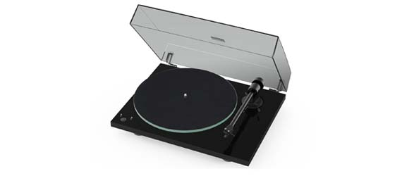 Pro-Ject T1 Phono SB Turntable in Black