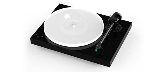 Pro-Ject X1 Gloss Black Turntable
