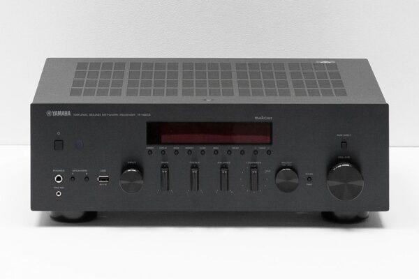 Yamaha R-N803 Front View Black
