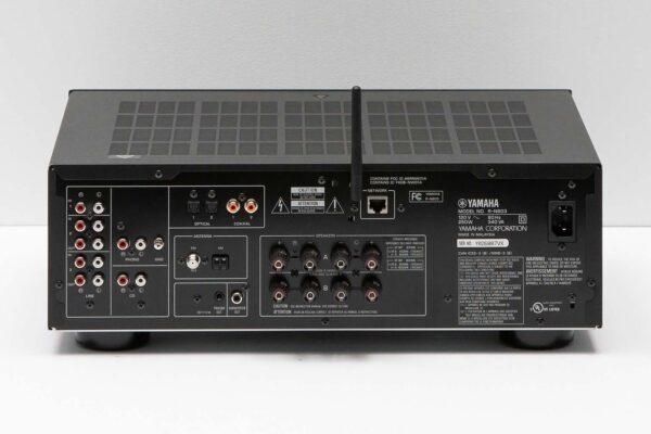 Yamaha R-N803 Rear View Black